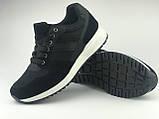 Кросівки чоловічі чорні LaVento, фото 2