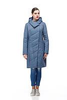 Демисезонная женская куртка ORIGA Камелия 48 Джинс 02KML-джинс48, КОД: 1470180
