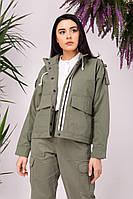 Куртка женская Feel and Fly Alder Olive S Хаки 022009, КОД: 1782047