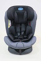 Детское автомобильное кресло LINDO Черный HB 636, КОД: 1552990