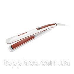 Щипцы для выравнивания волос Geemy GM-430, White