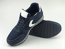 Кроссовки мужские синие LaVento (обувь мужская)