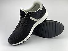 Кроссовки мужские черные LaVento (обувь мужская),