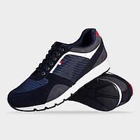 Кроссовки мужские темно-синие LaVento (обувь мужская)