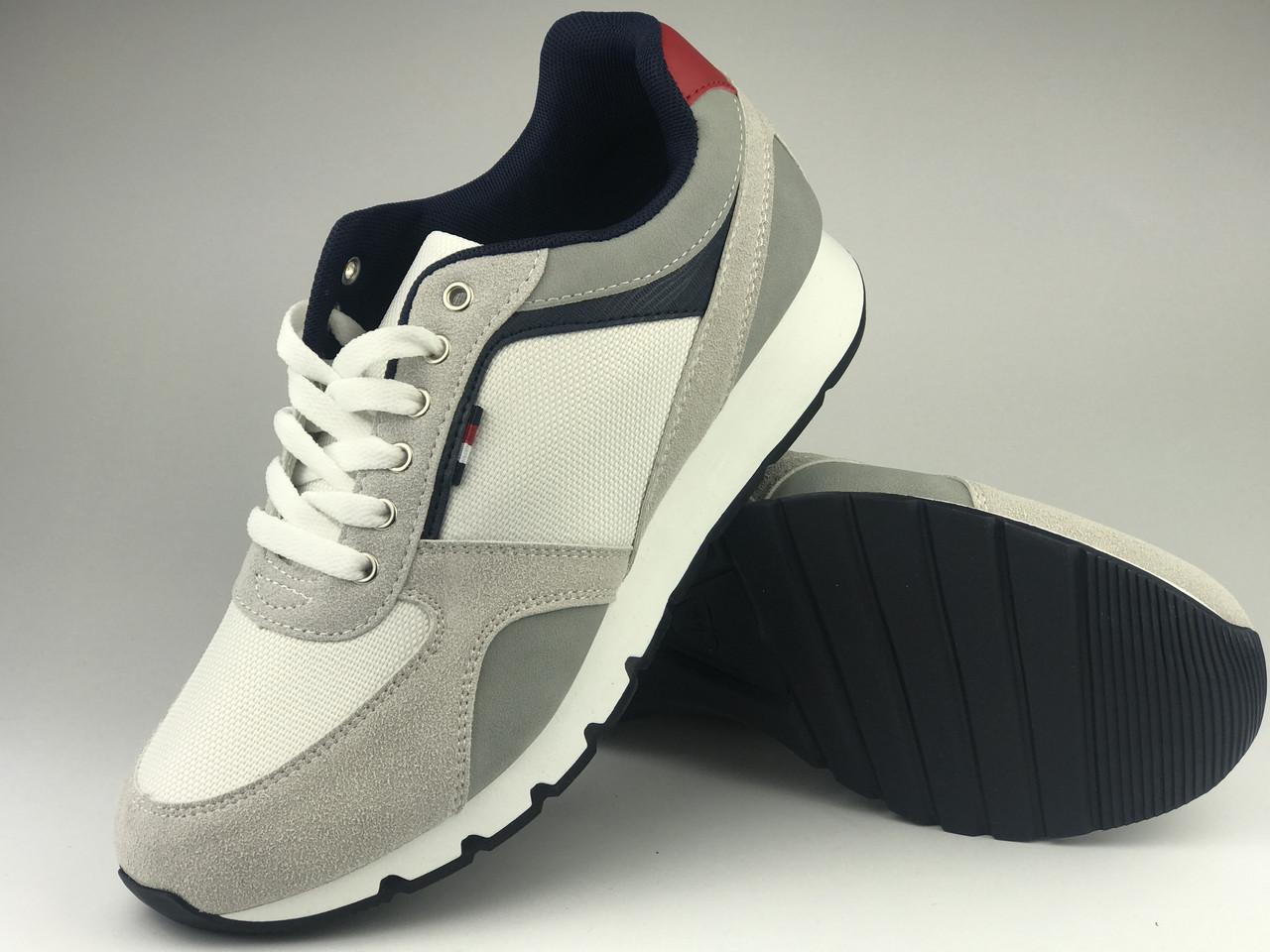 Кроссовки мужские серые LaVento (обувь мужская)