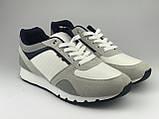 Кроссовки мужские серые LaVento (обувь мужская), фото 4
