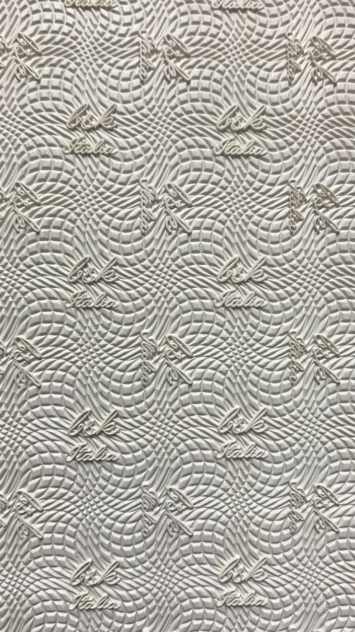 Набоечная резина премиум качества BSK 6,5мм, белая