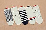 Шкарпетки жіночі короткі BRUNO з сердечком р.36-40, фото 2