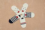 Шкарпетки жіночі короткі BRUNO з сердечком р.36-40, фото 3
