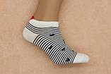 Шкарпетки жіночі короткі BRUNO з сердечком р.36-40, фото 4
