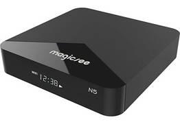 Смарт-бокс ТВ приставка Magicsee N5 2 16GB Smart Amlogic S905X JDKFD78DD, КОД: 1804118