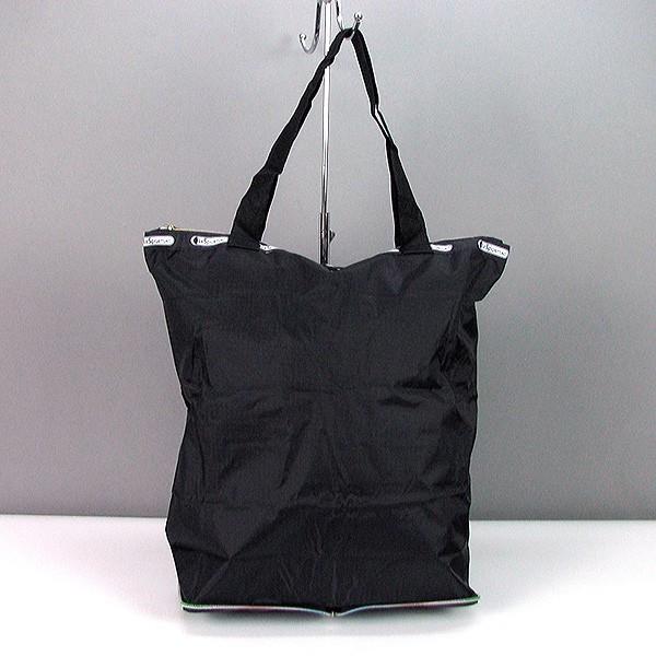 Сумка хозяйственная трансформер текстильная черная LeSports 9801