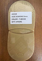 Формовка bsk премиум качество 92mmX90X6,5mm, цвет Т бежевый