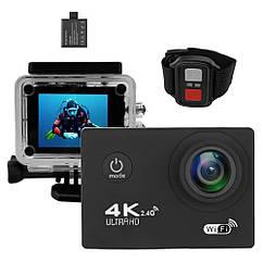 Экшн-камера 2Life B5R с пультом Black + УМБ 2Life Power Bank 2500 mAh Black n-362, КОД: 1624136