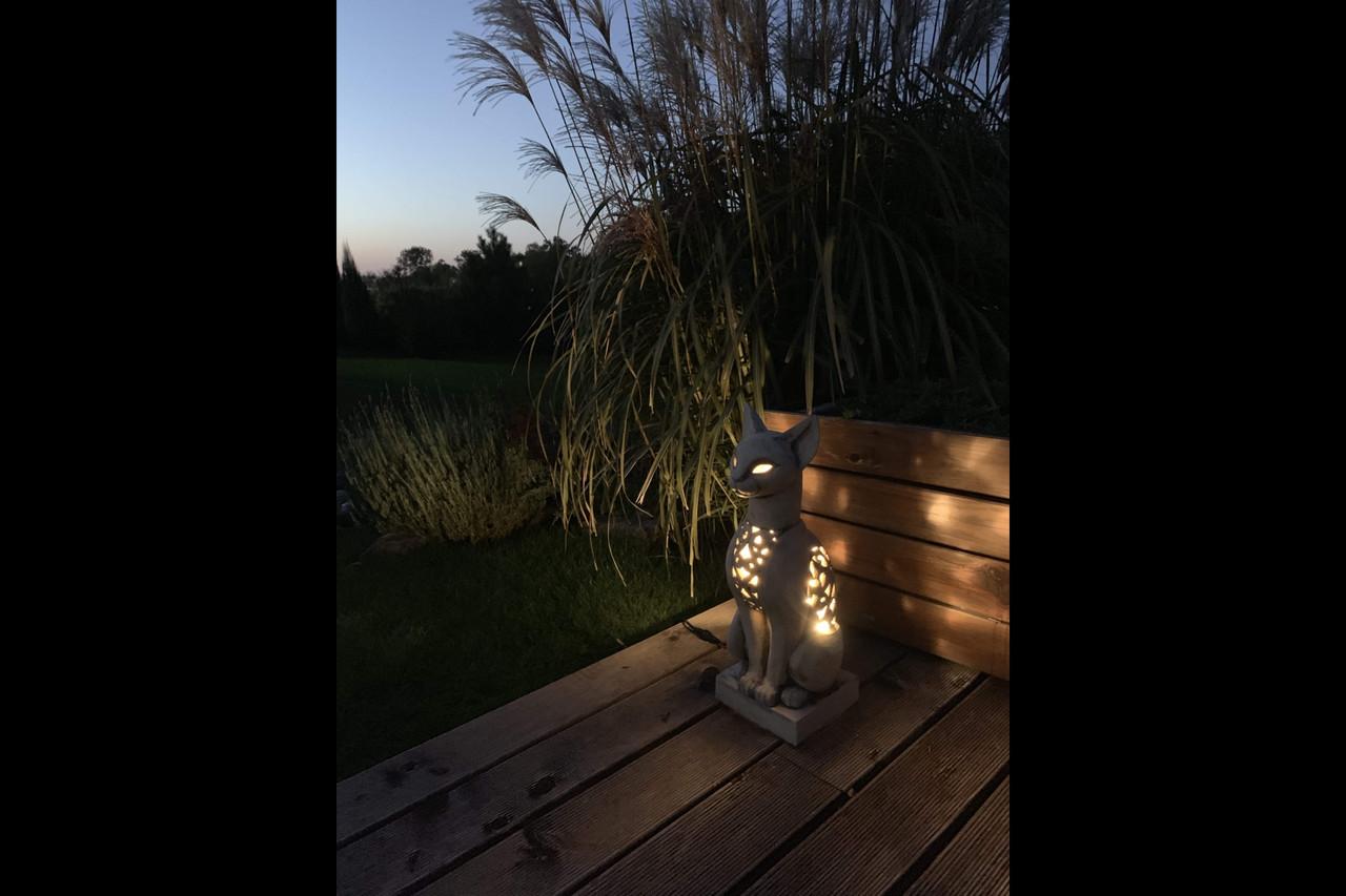 Світлодіодний світильник садовий декоративний КІТ СФІНКС лед