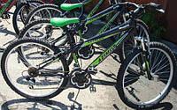 Спортивный велосипед Azimut Extreme 26 дюймов. black-light green