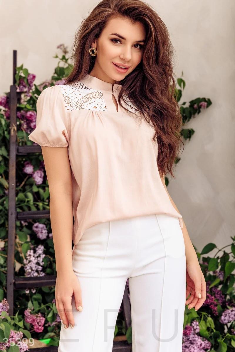 Рожева блузка в етнічному стилі S M L XL