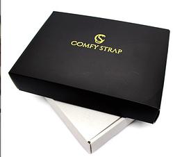 Упаковка брендовая подарочная COMFY STRAP Черный 055, КОД: 1549679
