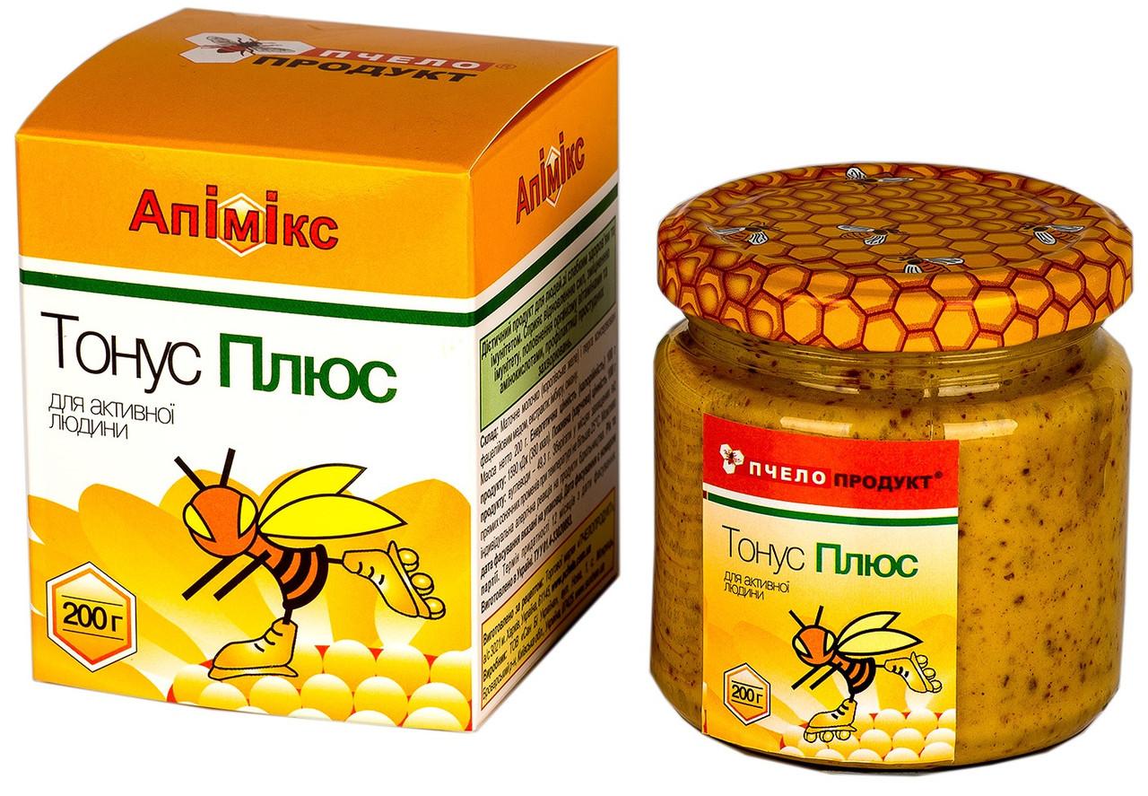 Апімікс ТонусПлюс Пчелопродукт, 200 р. Заряджає мозок!