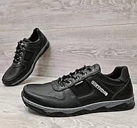 Кроссовки мужские демисезонные на шнуровку прошитые (Кф-7чн)