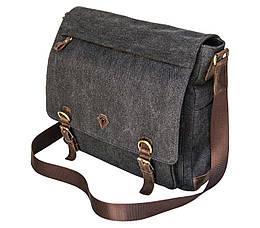 Мужская сумка для ноутбука 15 Black Diamond Серо-синий BDt1Ccrh-antro, КОД: 1086245
