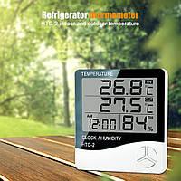 Домашня міні-метеостанція - HTC-2 з виносним датчиком Градусник цифровой