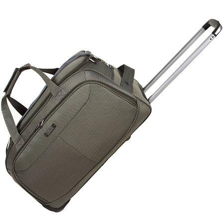Дорожная сумка FILIPPINI большая  67х38х43 три колеса, выдвижная ручка цвет хаки ксТ0045хб, фото 2