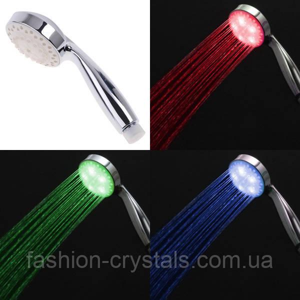 LED насадка на душ