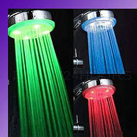 Светодиодная LED насадка на душ