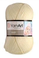 Пряжа Baby 50гр - 150м (502 Молочный) YarnArt