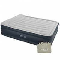 Надувная кровать Intex 64136 с электронасосом