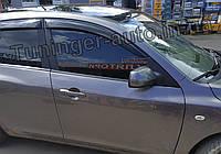 Дефлекторы окон (Ветровики) Mazda 3 (Хетчбек) 2003-2008 (Anv)
