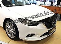 Дефлектор капота (мухобойка) Mazda 6 2012-2017 (EGR)