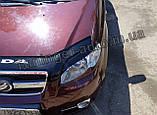 Вії на фари Chevrolet Aveo T250 2005-2012 (ANV), фото 3