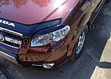 Вії на фари Chevrolet Aveo T250 2005-2012 (ANV), фото 4