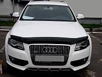 Дефлектор капота (Мухобойка) Audi Q5 2008-2016 (SIM)