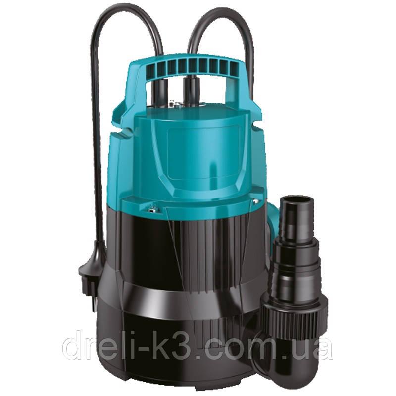 Насос дренажный садовый 0.5кВт Hmax 8м Qmax 170л/мин LEO (773143)
