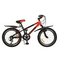 Bелосипед Profi Union 20 дюймов. red-black