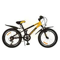 Bелосипед Profi Union 20 дюймов. yellow-black
