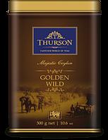 Чай Турсон Золотое Наследие черный ОПА 300г жб Thurson GOLDEN WILD крупнолистовой цейлонский сорт OPA