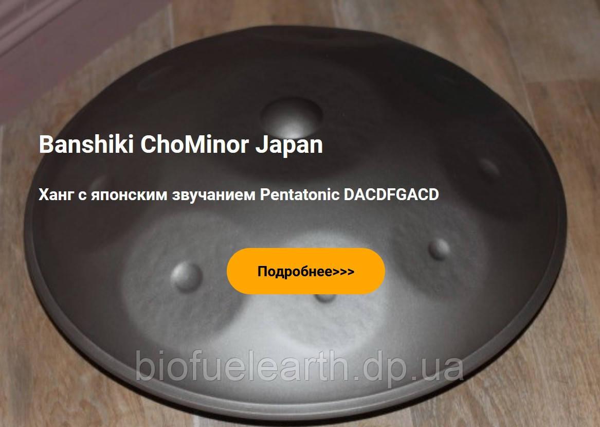 Ханг драм, Ханг, Хенд Пан, Ханг Пан,  HANG PAN - Banshiki ChoMinor Japan Pentatonic (DACDFGACD)