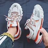 Кросівки Dream-3 біло-помаранчеві, фото 2