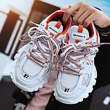 Кросівки Dream-3 біло-помаранчеві, фото 3