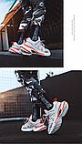Кросівки Dream-3 біло-помаранчеві, фото 5