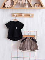 """Дитячий одяг для хлопчиків """"Simply Rory"""", коричневий з чорним"""