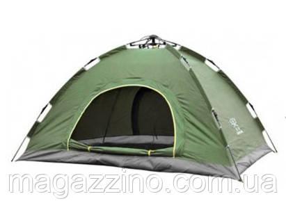 Палатка-автомат четырехместная, HY-TG-018, 210 x 210 x 135 см.