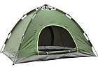 Палатка-автомат четырехместная, HY-TG-018, 210 x 210 x 135 см., фото 3