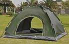 Палатка-автомат четырехместная, HY-TG-018, 210 x 210 x 135 см., фото 4