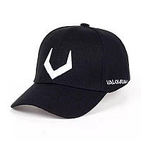 Кепка бейсболка Valourian Черная, Унисекс, фото 1