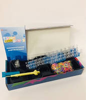 Набор Резинок Для Плетения Браслетов Rainbow Loom 600 Шт В Наборе С Овальным Станком